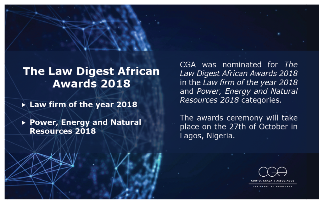 The Law Digest African Awards 2018 - EN