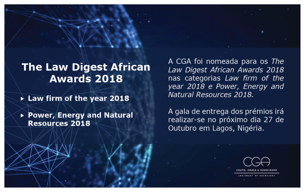 The Law Digest African Awards 2018 - PT